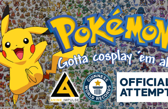 Anime Impulse 2018 Takes On Pokemon Guiness World Record Challenge This Month